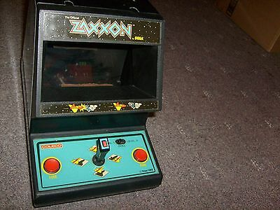 Vintage Classic 1982 Coleco Zaxxon Tabletop Arcade Game Excellent FREE SHIPPING