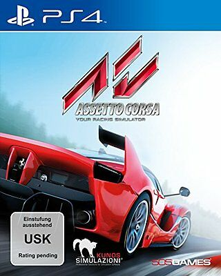 Ps4-Assetto Corsa [De-Version]-Playstation  New