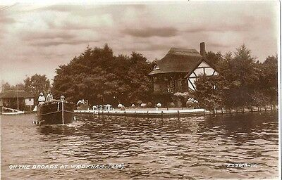 Postcard...on The Broads At Wroxham Rp