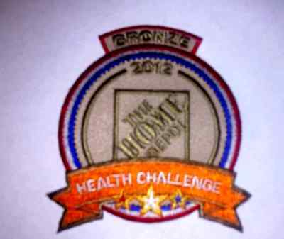 Lmh Patch Badge The Home Depot Bronze Health Challenge