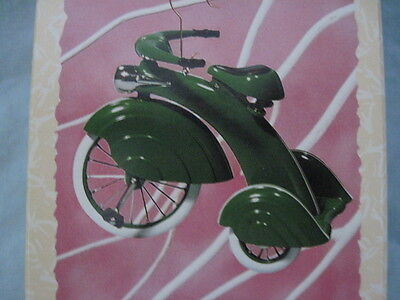 1997 Hallmark 1935 MURRAY STEELCRAFT VELOCIPEDE Ornament #1 BICYCLE TRICYCLE