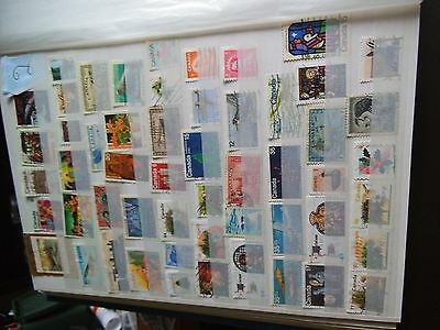 A nice selection of Canadian stamps