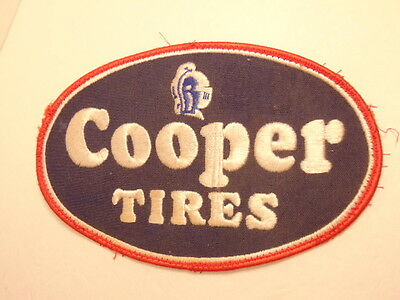 Older larger size Cooper Tires cloth or fabric patch