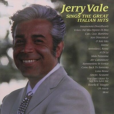 Jerry Vale - Jerry Vale Sings the Great Italian Hits [New CD]