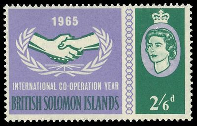 SOLOMON ISLANDS 144 (SG130) - International Cooperation Year (pa38219)