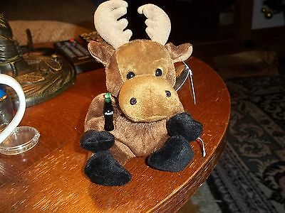 GOURMAND THE MOOSE FROM CANADA  cola international beanies 6 IN.