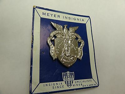 Genuine Military Vintage Badge Crest Insignia Fork Union Military Academy
