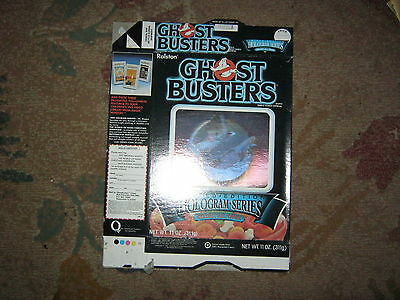 Ghost Busters Hologram Series Cereal Box 1985