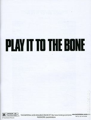 Play it to the Bone Promotional Media Book (1999) #KIT-01 NM