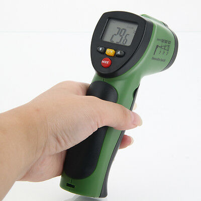 FLANK F-380 Non-Contact LCD IR Infrared Digital Thermometer Temperature Tester