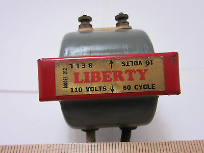 Vintage Antique Old Liberty Bell Co Doorbell Transformer - Collectible - NICE • CAD $25.40