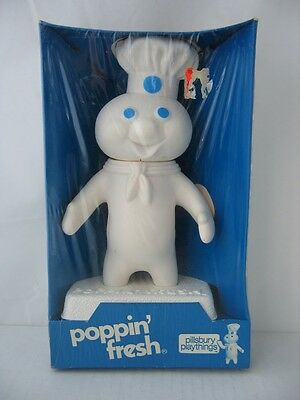 Pillsbury Playthings 7 inch poppin' fresh doll in original package - NICE