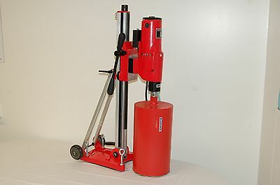 """12""""Z1 T/S CORE DRILL 2 SPEED W/ TILTING STAND BLUEROCK ®Tools with Vacuum Pump"""