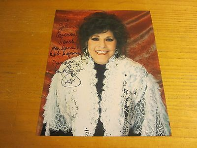 Donna Fargo Country Musician Autographed Signed 8X10 Photograph Funny Face