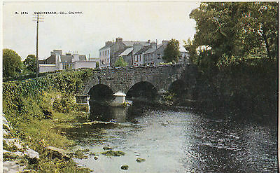 OUGHTERAAD CO. GALWAY 1950s-1960s VALENTINE'S POSTCARD UN-POSTED R. 3916