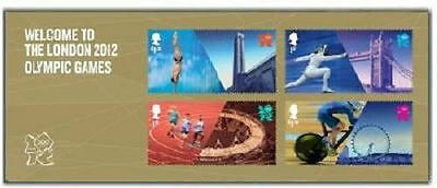 UK Welcome to the London 2012 Olympic Games Miniature Sheet MNH 2012