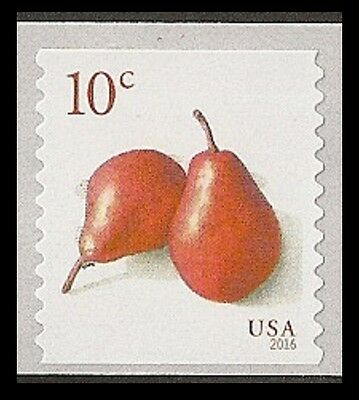 US 5039 Pears 10c coil single MNH 2016