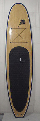 Stand up Paddle - SUP board 11'6 + Fins + Grip + Paddle : BambooVeneer  Finish