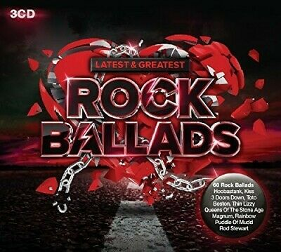 Various Artists - Latest & Greatest Rock Ballads / Various [New CD] UK - Import