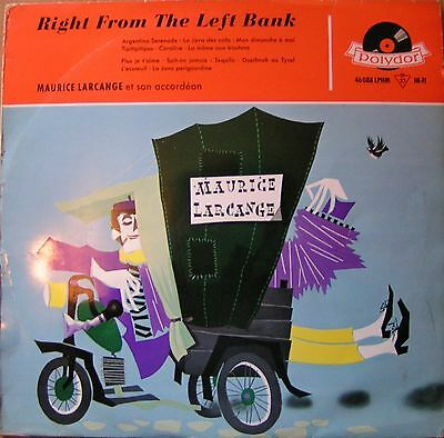 Maurice Larcange - Right From The Left Bank