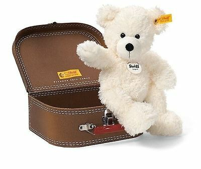"Steiff Lotte 11""Bear in a Suitcase Childrens Toy Christmas Gift, 111464"