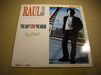 Raul Orellana – You Can't Stop The House ' 2 X 12'' N.MINT