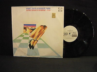 Yes – Time And A Word ' LP MINT