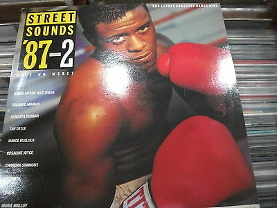 Various ‎– Street Sounds '87-2 ' LP'' MINT 1987