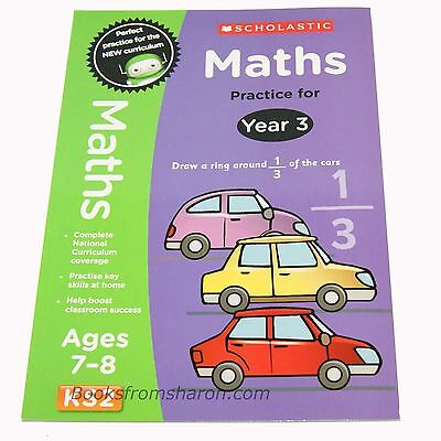 Maths Practice for Year 3  . . . .   Age 7-8 . . .  National Curriculum