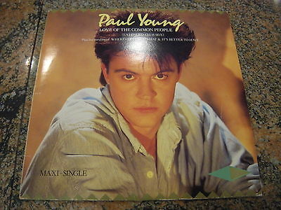 Paul Young – Love Of The Common People (Extended Club  ' 12''  MINT SPAIN 1984
