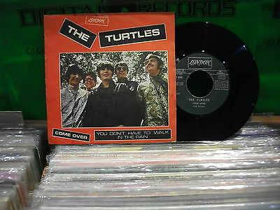 THE Turtles – Come Over  ' 7'' VG++ SPAIN PRESS PROMO 1969