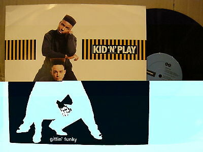 Kid 'N' Play – Gittin' Funky ' 12'' MINT UK PRESS 1988