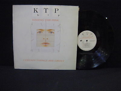 Kissing The Pink – Certain Things Are Likely ' LP VG++ / N.MINT  SPAIN PRESS