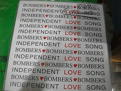 """Bombers  – Indipendent Love Song ' 12 """" N.MINT 1995"""