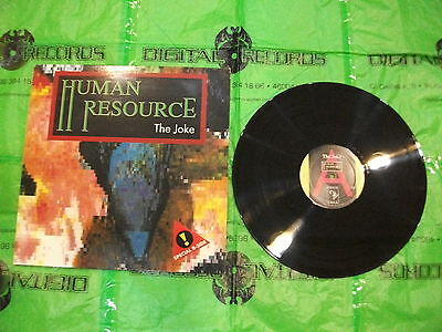 Human Resource ‎– The Joke ' 12'' VG++ / N.MINT   2BF 101-5