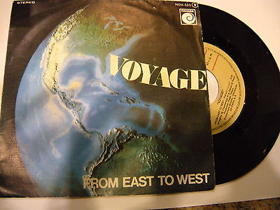 Voyage ‎– From East To West '  7'' VG++ SPAIN PRESS