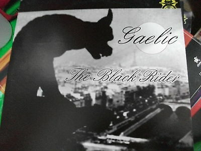 "Gaelic ‎– The Black Rider ' 12 "" MINT  2002"