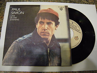 Paul Simon ‎– Late In The Evening ' 7'' MINT SPAIN PRESS