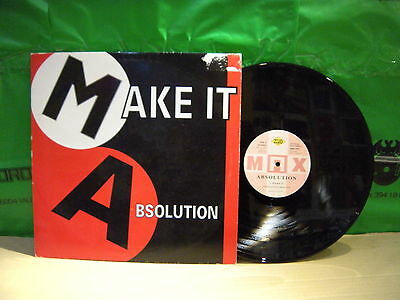 Absolution ‎– Make It ' 12'' VG++ MAX MUSIC