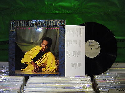 Luther Vandross ‎– Give Me The Reason ' LP N.MINT SPAIN