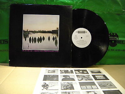 Play Dead ‎– From The Promised Land ' LP MINT SPAIN PRESS + INSERT