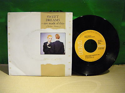 Eurythmics ‎– Sweet Dreams (Are Made Of This) (Dulces Sueños) ' 7'' MINT SPAIN