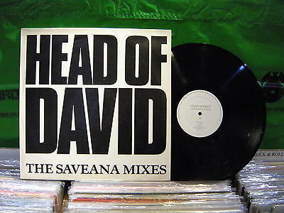 Head Of David ‎– The Saveana Mixes ' 12''  VG++ / N.MINT