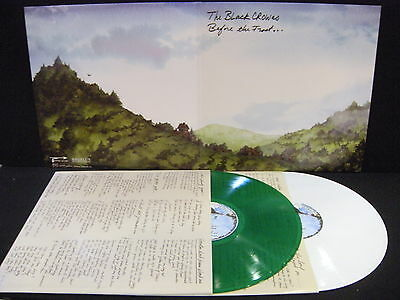 The Black Crowes – Before The Frost ...  ' 2 X LP MINT GREEN & WHITE LIMITED