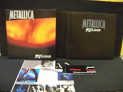 Metallica ‎– Reload  ' 4 X LP 12''  MINT LIMITED EDITION