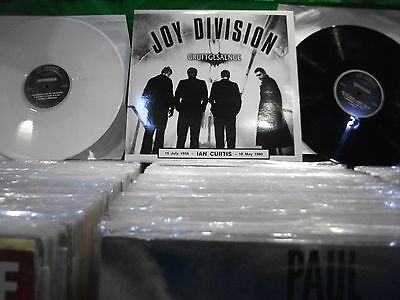 Joy Division ‎– Gruftgesaenge '  LP MINT  BLACK & WHITE RECORDS  LIMITED