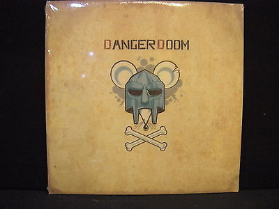 Danger Doom – The Mouse And The Mask '  LP MINT & SEALED 2005