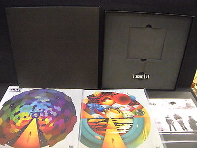 Muse ‎– The Resistance ' 2 X LP MINT BOX LIMITED + Memory Stick 2009