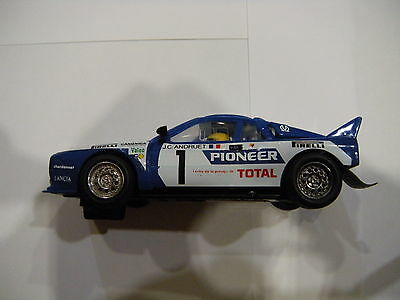 Scalextric Lancia Rally 037 Pioneer 4073 / 4074 - Exin - Azul
