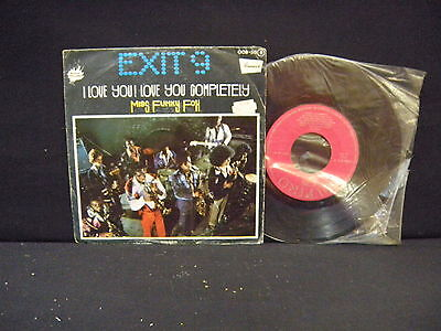 Exit 9  ‎– I Love You! Love You Completely ' 7'' N.MINT SPAIN PRESS 1976